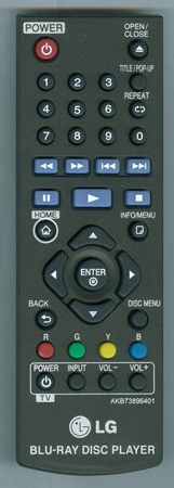 LG AKB73896401 Genuine OEM original Remote