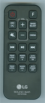 LG AKB74815396 Genuine OEM Original Remote