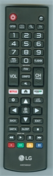 LG AKB75095307 Genuine OEM original Remote