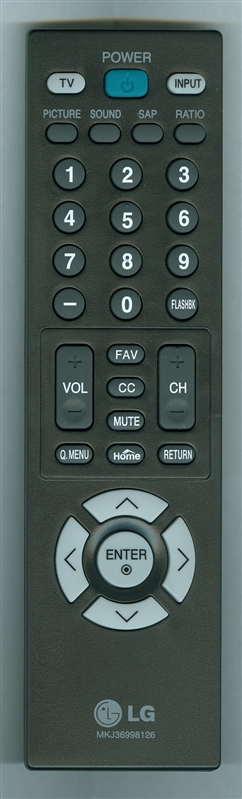 LG MKJ36998126 Genuine OEM original Remote