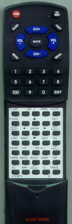 LG 6710T00017A Custom Built Redi Remote