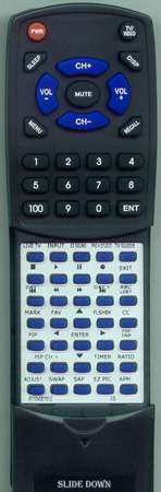 LG 6710V00151Z 6710V00151Z Custom Built Redi Remote