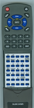 LG AGF78364101 Custom Built Redi Remote