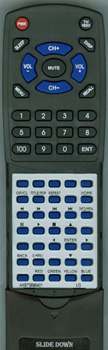 LG AKB73896401 Custom Built Redi Remote