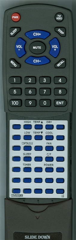 LG COV30332908 Custom Built  Redi Remote