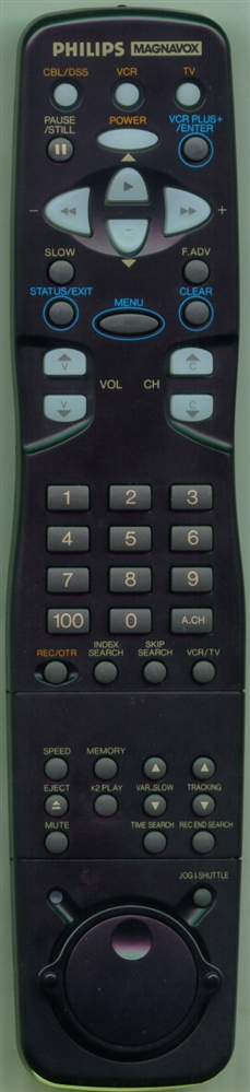MAGNAVOX 483521937205 N9198UD Refurbished Genuine OEM Remote