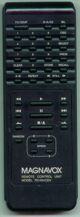 MAGNAVOX RC484CDV RC484CDV Refurbished Genuine OEM Original Remote