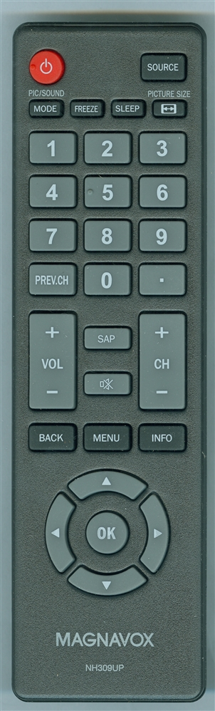 MAGNAVOX NH309UP Genuine  OEM original Remote