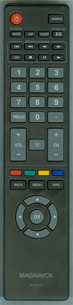 MAGNAVOX NH404UD Refurbished Genuine OEM Original Remote