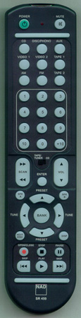 NAD SR450 SR450 Genuine  OEM original Remote