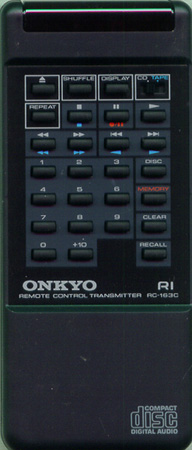 ONKYO 24140163 RC163C Genuine  OEM original Remote