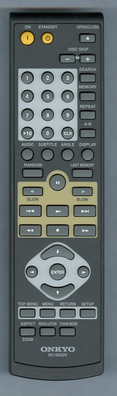 ONKYO 24140655 RC655DV Genuine OEM original Remote