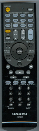ONKYO 24140708 Genuine OEM original Remote