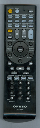 ONKYO 24140764 RC-764M Genuine OEM original Remote