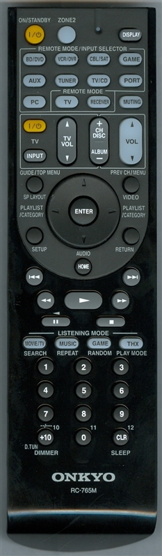 ONKYO 24140765 RC-765M Genuine  OEM original Remote