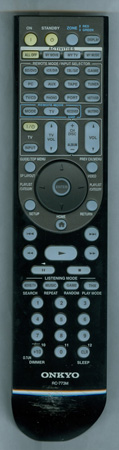 ONKYO 24140773 RC-773M Genuine OEM original Remote
