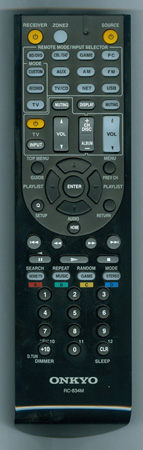 ONKYO 24140834 RC-834M Genuine OEM original Remote