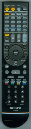 ONKYO 24140840 RC-840M Genuine OEM original Remote