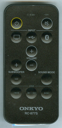 ONKYO 24140877 RC-877S Genuine OEM original Remote