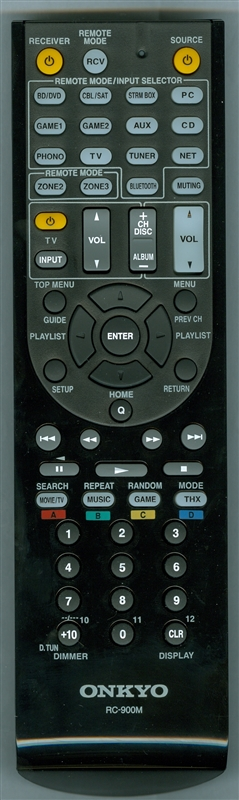 ONKYO 24140900 RC-900M Genuine OEM original Remote
