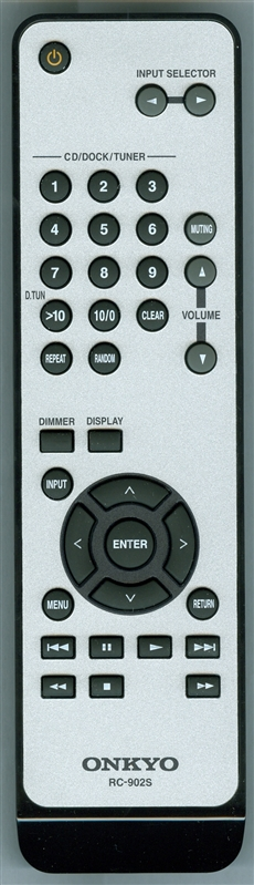 ONKYO CARTA9010-ON RC-902S Genuine OEM original Remote
