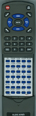 ONKYO 24140745 RC-745M Custom Built Redi Remote