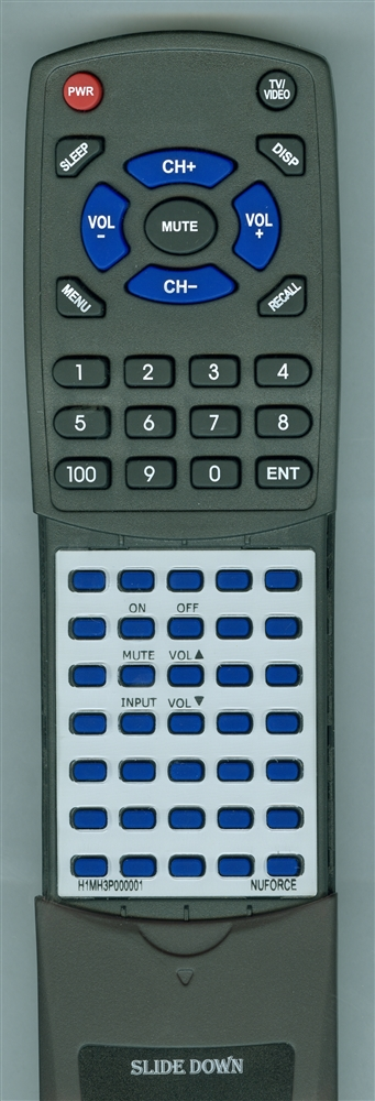 OPTOMA H1MH3P000001 Custom Built Redi Remote