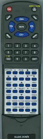 PANASONIC VEQ2011 VEQ2011 Custom Built Redi Remote
