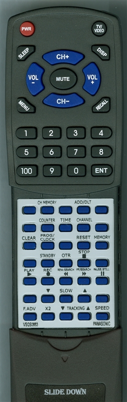 PANASONIC VSQS0663 Custom Built Redi Remote