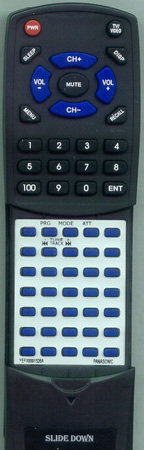 PANASONIC YEFX9991526A Custom Built Redi Remote