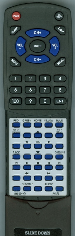 PHILIPS 996510041474 Custom Built Redi Remote