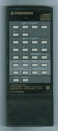 PIONEER PWW1005 CU-PD006 Genuine  OEM original Remote