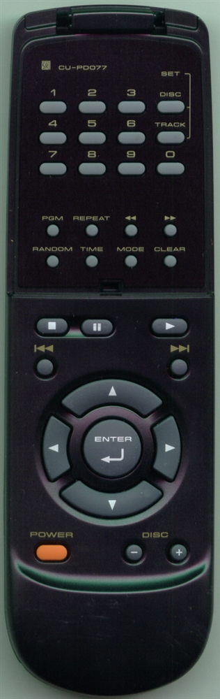 PIONEER PWW1105 CUPD077 Refurbished Genuine OEM Original Remote