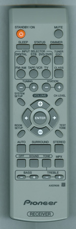 PIONEER 8300740600010-IL AXD7406 Genuine OEM original Remote