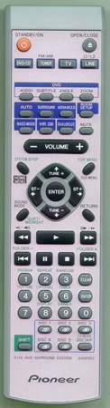 PIONEER AXD7353 Genuine  OEM original Remote
