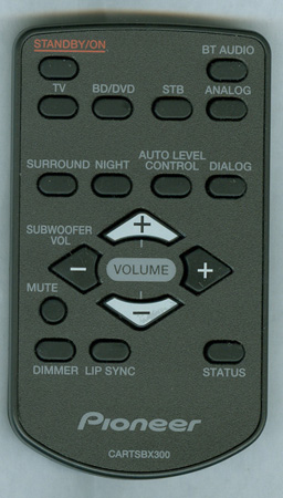 PIONEER CARTSBX300 Genuine  OEM original Remote