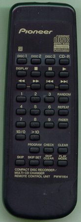 PIONEER PWW1164 Genuine  OEM original Remote