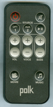 POLK RE6915-1 OEM Remote Control