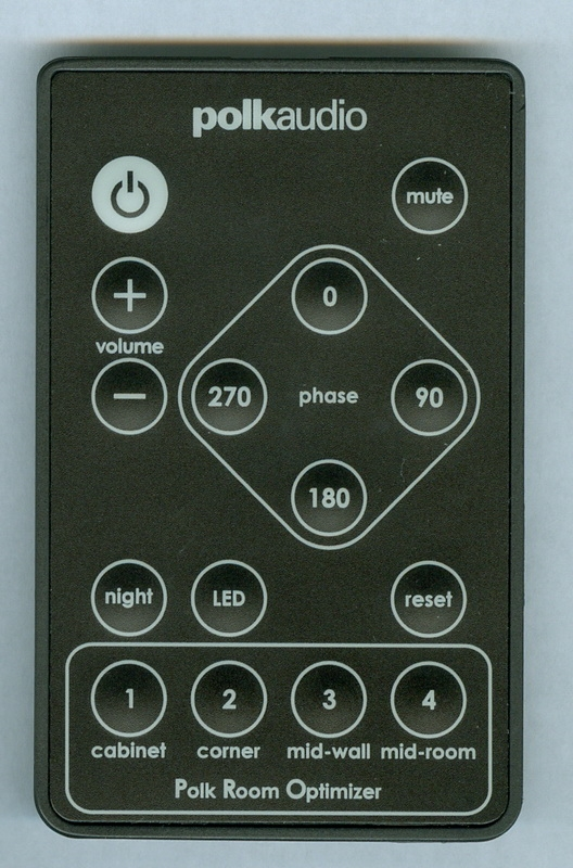 POLK RF2008-1 Genuine OEM original Remote