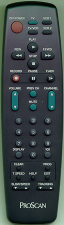 PROSCAN 207134 Genuine  OEM original Remote