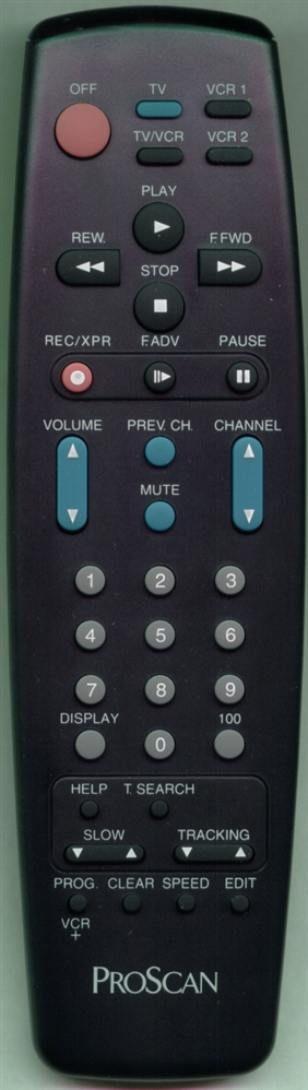 PROSCAN 210858 Refurbished Genuine OEM Original Remote