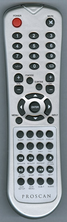 PROSCAN E20DP02 Genuine OEM original Remote