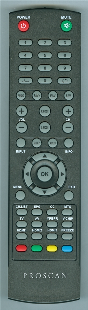 PROSCAN 14A Genuine OEM original Remote