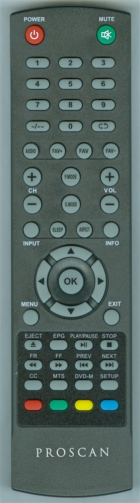 PROSCAN 14D Genuine OEM original Remote