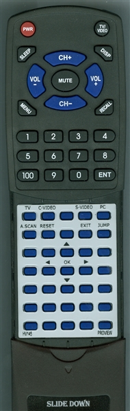 PROVIEW HV145 Custom Built Redi Remote