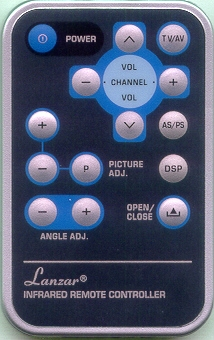 PYLE PLTV64R CC REMOTE Genuine  OEM original Remote
