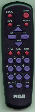 RCA 226552 CRK10B1 Genuine  OEM original Remote