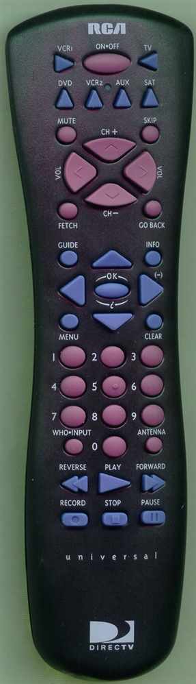 RCA 228412 Refurbished Genuine OEM Original Remote