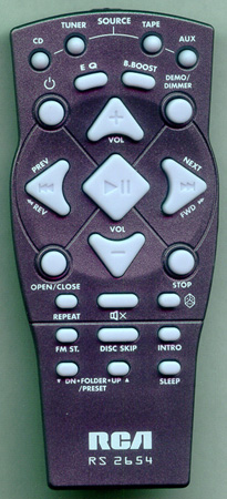 RCA 273466 RS2654 Genuine  OEM original Remote