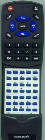 RCA 232578 Custom Built Redi Remote